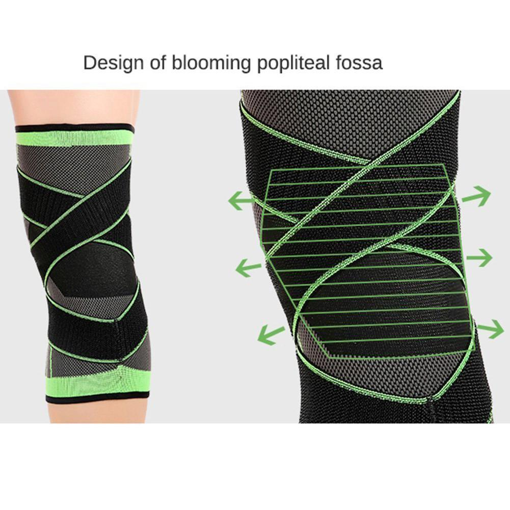 3D Adjustable Knee Brace
