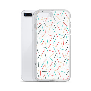 iPhone Case: White Sprinkle