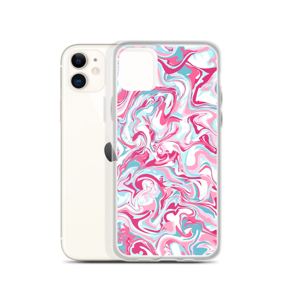 iPhone Case: Pink Marble