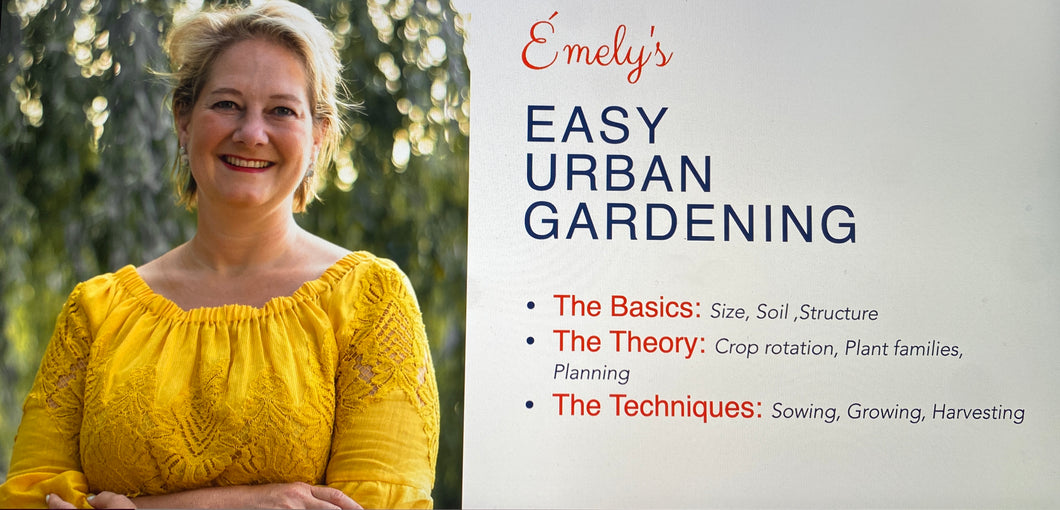 Easy Urban Gardening Introduction Webinar