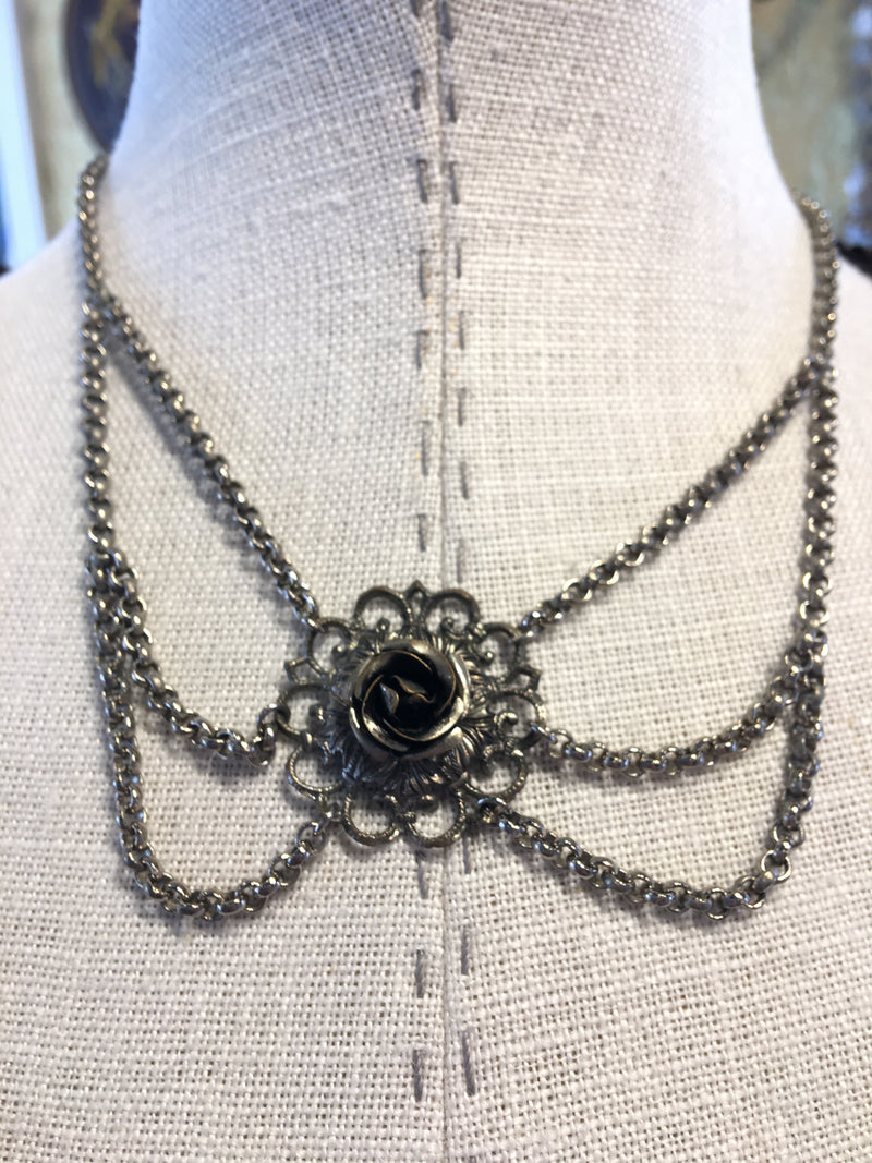 Beautiful Vintage Bavarian Costume Necklace #7.