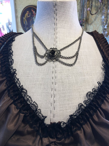 Beautiful Vintage Bavarian Costume Necklace #6.