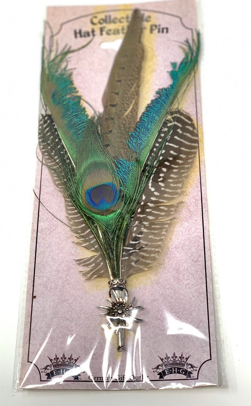 Collectable Feather Hat Pin