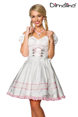 Dirndline Dirndl Checkered Traditional Dress In-Stock