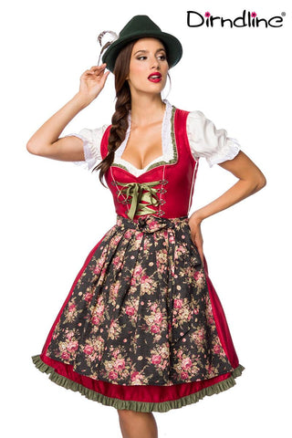 StockerPoint Midi Dirndl 2 Pcs. 70 cm JADE Black Size 46 In Stock