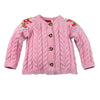 "Girls Sweater ""Strickjacke"" Rose"