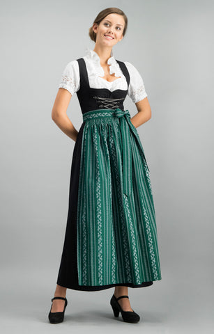 Stockerpoint Midi Dirndl 2 pcs. 65 cm SERINA fir Berry Sold Out