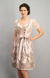 Stockerpoint Midi Dirndl 2 pcs. 60cm EVORIA Old Rose In-Stock Size 40,42