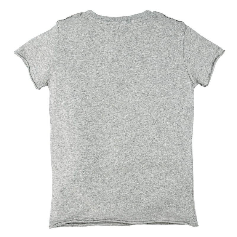 "Kids T-Shirt ""Rockt Den Berg"" Grey-Melange"
