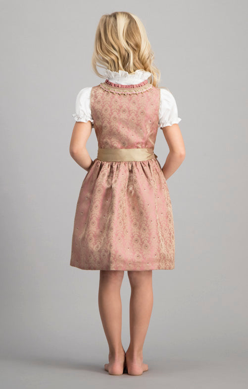Stockerpoint Trachten Girls Dirndl 3pcs. ANNA Old Pink