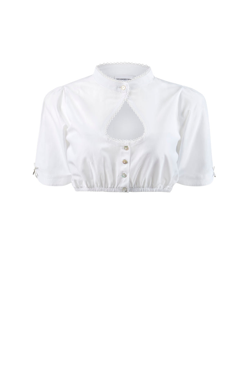 Stockerpoint Traditional Blouse B1045 White Size 40 In Stock