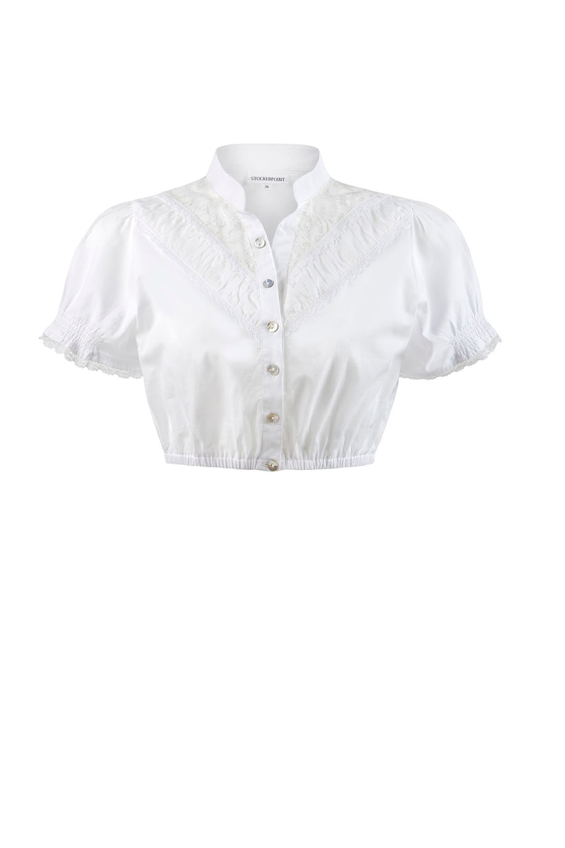 Stockerpoint Traditional Blouse B4020 White