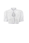 Stockerpoint Traditional Blouse B5075 White Size 38