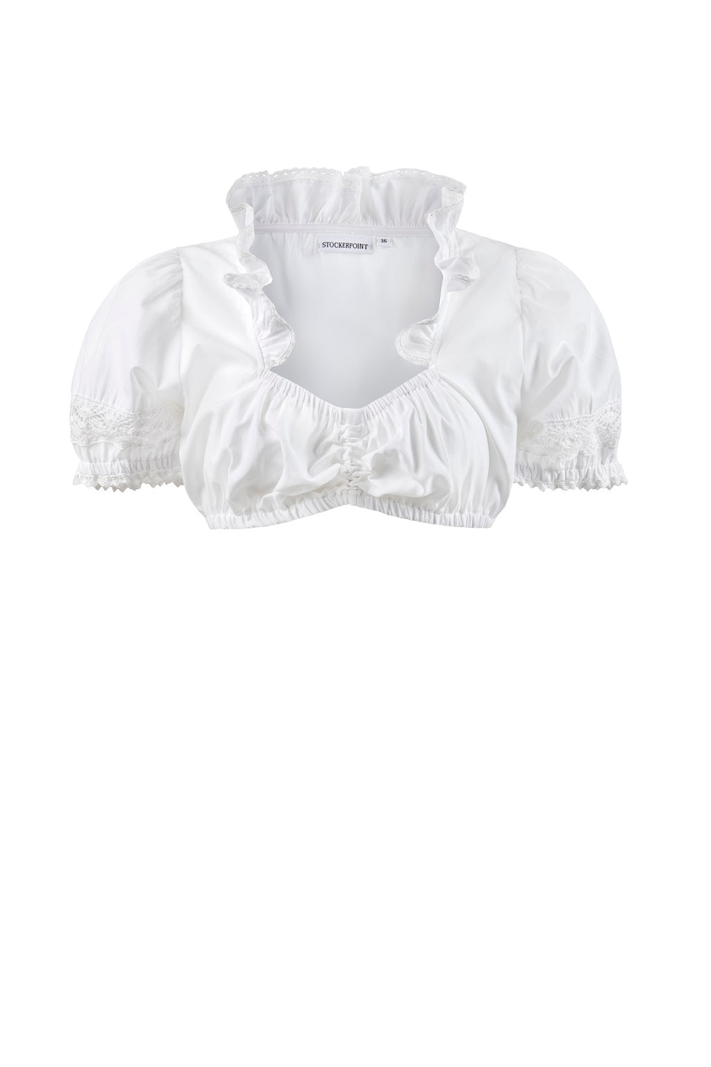 Stockerpoint Traditional Blouse B7200 White Size 46 In Stock