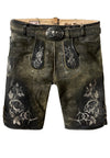 StockerPoint Men's Lederhosen Kramer Graphite Size 54 in stock
