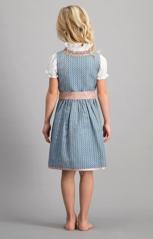 Stockerpoint Trachten Girls Dirndl 3pcs. Lucy Blue