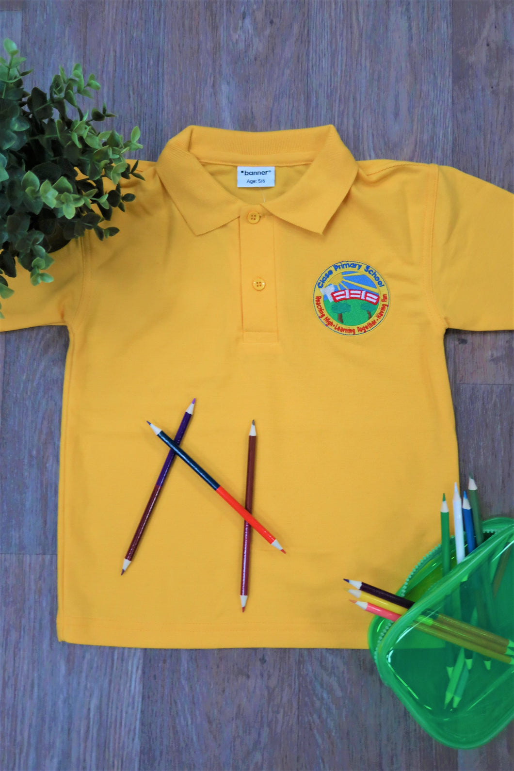 Clase Primary Unisex Polo Shirt