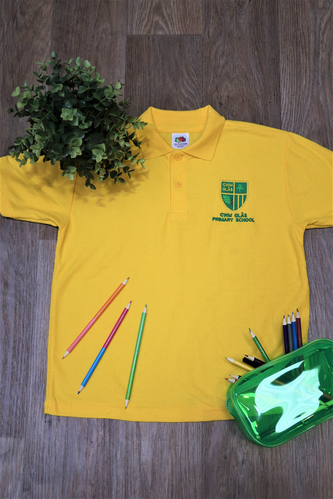 Cwm Glas Primary Unisex Polo Shirt