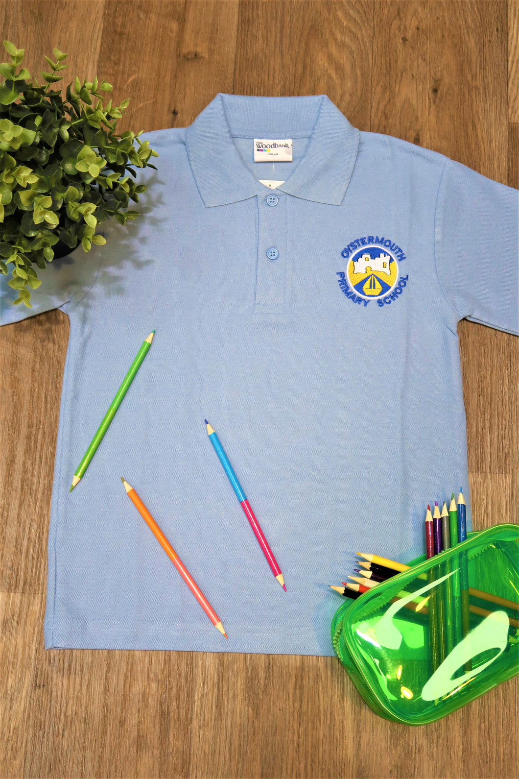 Oystermouth Primary Unisex Polo Shirt