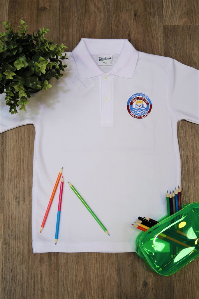 Pont Y Brenin English Primary Unisex Polo Shirt