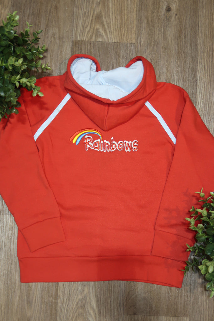 Rainbows Zip Hood