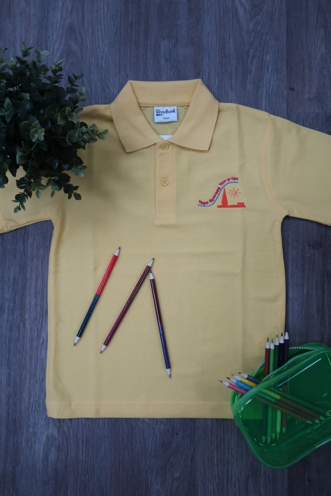 Tan Y Lan Primary Unisex Polo Shirt