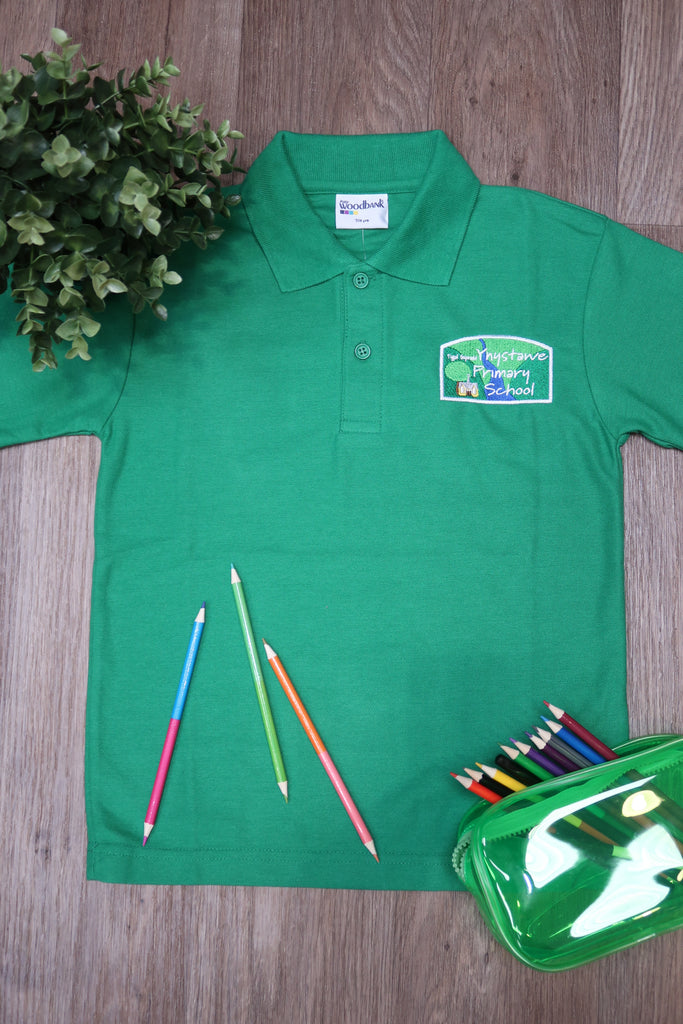 Ynystawe Primary Unisex Polo Shirt