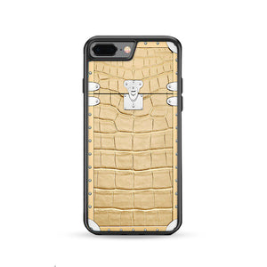 on sale 5b5d8 f5e8d Snake Skin Texture Eye Trunk iPhone 8 Plus | Rowlingcase