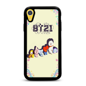 online store 94b46 6617a BTS BT21 Characters iPhone XR | Rowlingcase