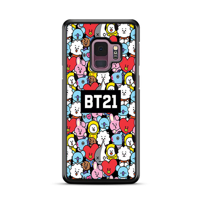 finest selection 7d8b0 1a492 BT21 BTS Collage Samsung Galaxy S9 Case | Rowlingcase