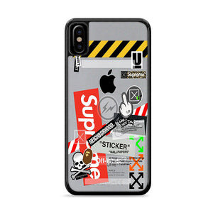 Hypebeast Sticker Iphone Xs Max Cases Rowlingcase