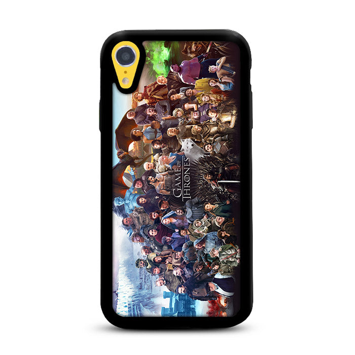 ffeb4727 Game of Thrones All Characters iPhone XR Case | Rowlingcase