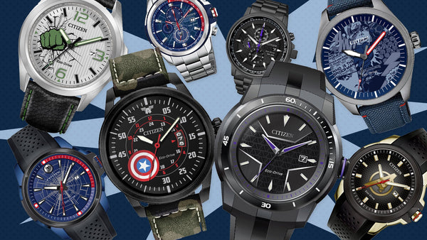 Citizen Eco-Drive Marvel Avengers Watches For Comic Con