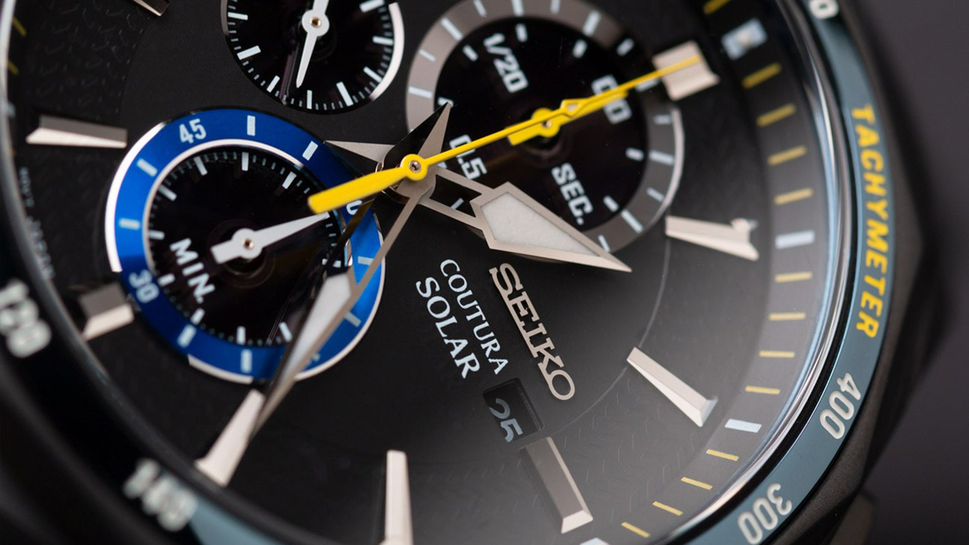 Seiko Coutura Solar Chronograph Jimmie Johnson Special Edition Watch Hands-On