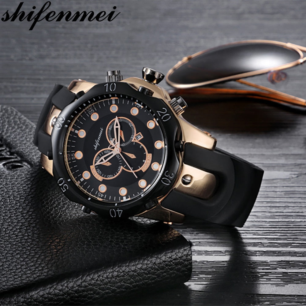Watch Men Military Quartz Watch Top Brand Luxury Silicone Sports