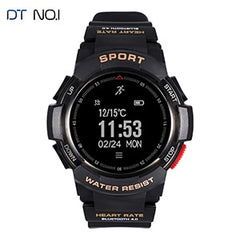 NEW No.1 F6 Smartwatch IP68 Waterproof Bluetooth 4.0 Dynamic Heart Rate Monitor