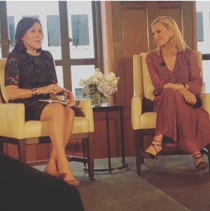Fireside Chat with Tory Burch!