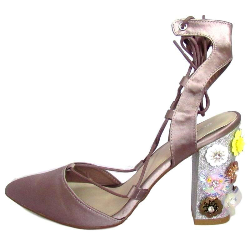 grey pump, grey heel, silver pump, grey pump, embellished heel, embellished pump, glitter heel, glitter pump, lace up pump, lace up heel, closed toe, flower heel, flower, floor pump, flower, shoe boutique, designer shoes, independent designer, independent shoe designer, shuesq, unique shoes