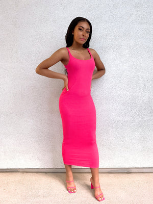 Open image in slideshow, Piper Tank Dress Pink
