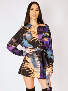 Kimora Shirt Dress