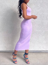 Load image into Gallery viewer, Piper Tank Dress Lavender