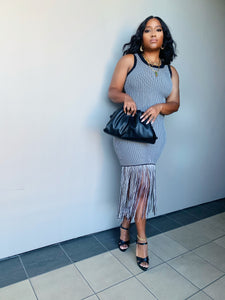 Sarai Fringe Dress