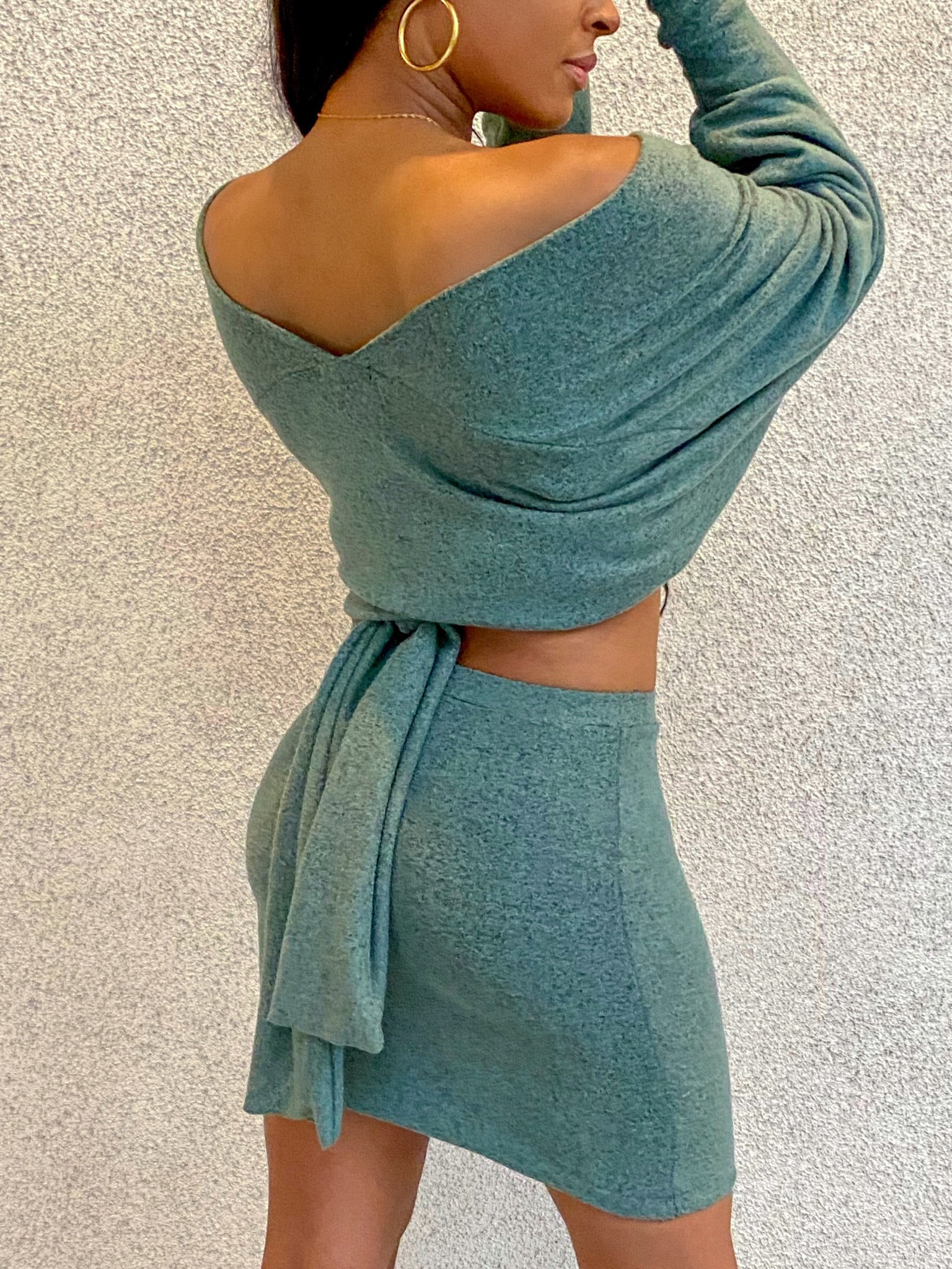 Ivy Wrap Sweater
