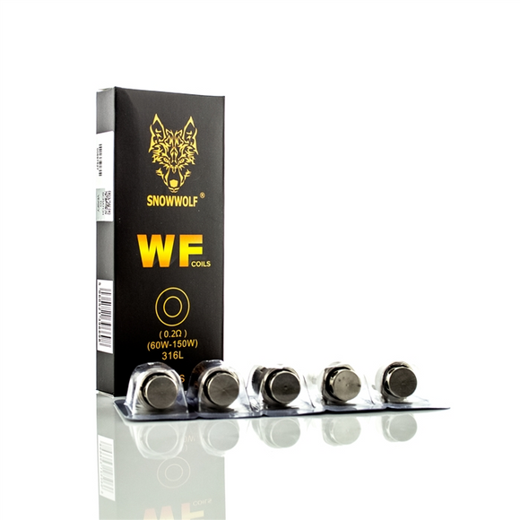 SNOWWOLF WOLF WF REPLACEMENT COILS 5 PACK