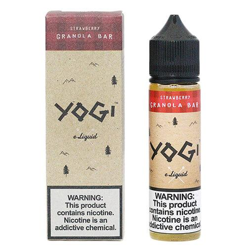 STRAWBERRY GRANOLA BAR BY YOGI 60ML