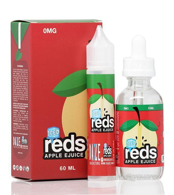 ICED REDS APPLE JUICE