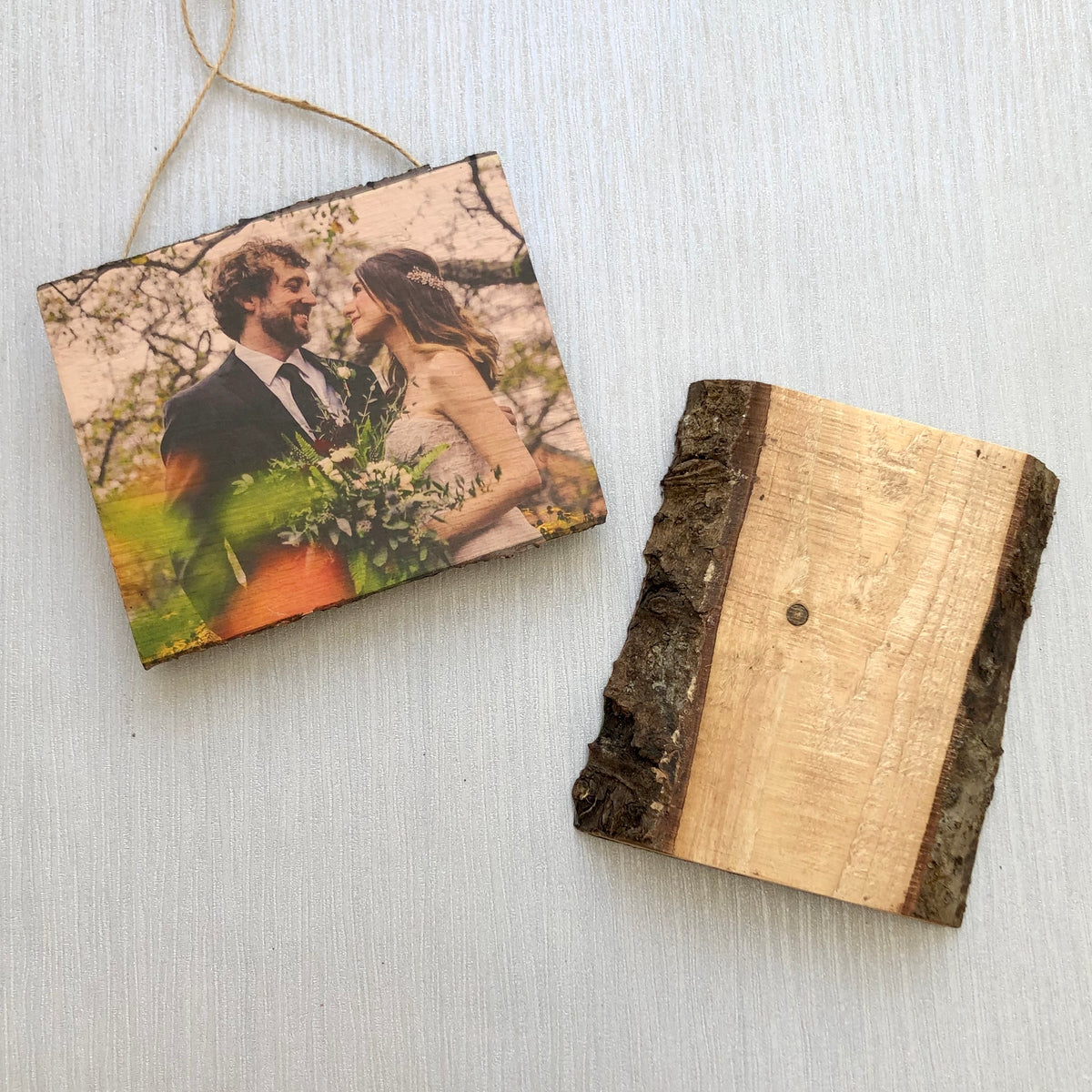 5th Wedding Anniversary Natural Wood Plaque