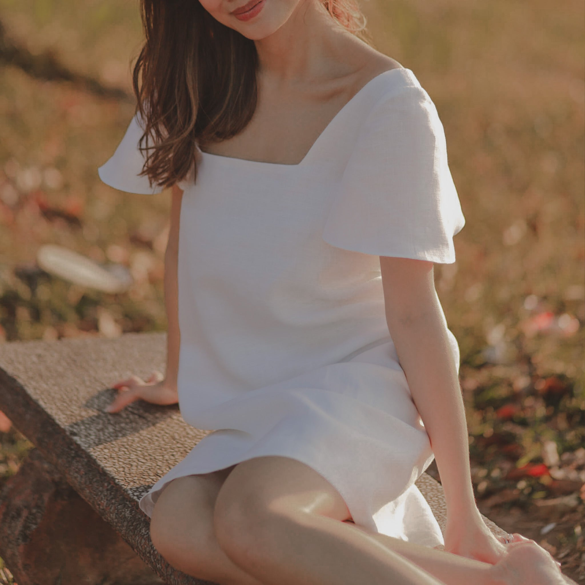 Linen Bella Dress
