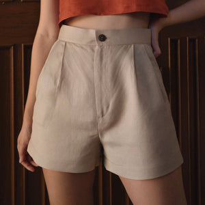 Classic Pleated Shorts