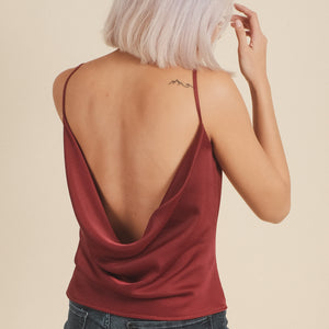Backless Cowl Cami